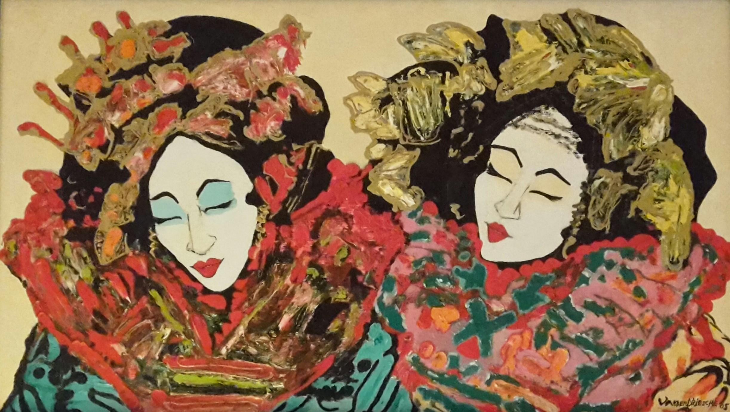 Twee Geisha's